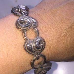 Brighton heart bracelet silver